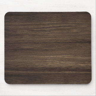Brown Wood Mouse Pad