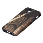 Brown Wooden Planks Barn Wall - rural photography iPhone 5 Cases