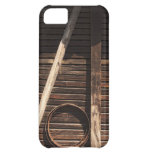 Brown Wooden Planks Barn Wall - rural photography iPhone 5C Case