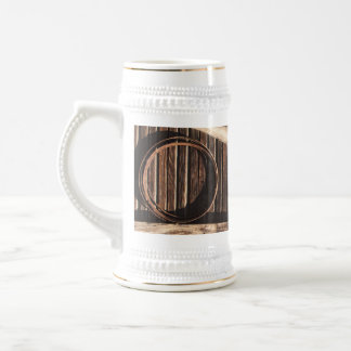 Brown Wooden Planks Barn Wall - rural photography Coffee Mugs