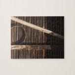 Brown Wooden Planks Barn Wall - rural photography Puzzles