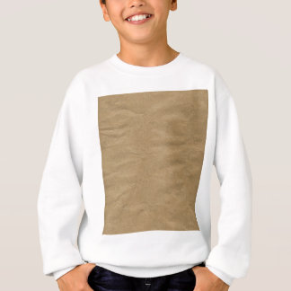 Brown Wrapping Paper Background Sweatshirt