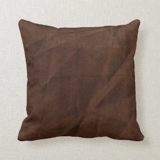 brown wrinkled background pillows