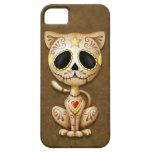 Brown Zombie Sugar Kitten iPhone 5 Case