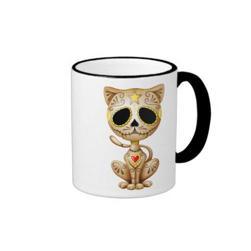 Brown Zombie Sugar Kitten Coffee Mug