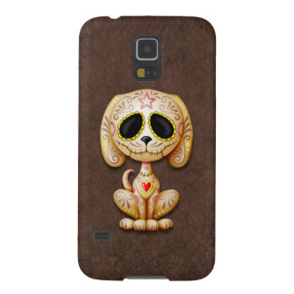 Brown Zombie Sugar Puppy Dog Galaxy S5 Case