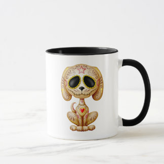 Brown Zombie Sugar Puppy Mug