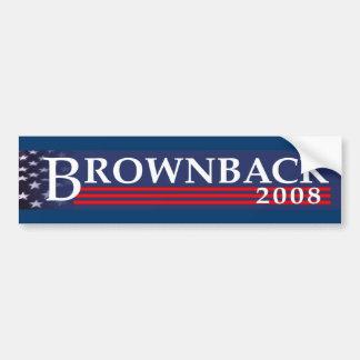 Brownback 2008 Bumper Sticker