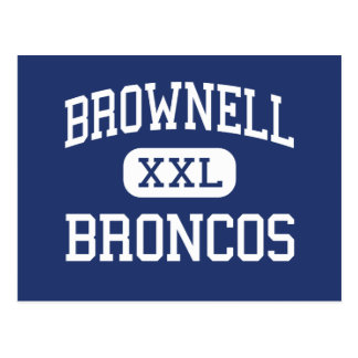 Brownell Broncos Middle Grosse Pointe Postcards