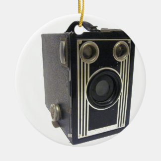 Brownie Antique Camera Christmas Ornament