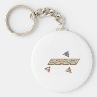 Brownie Badge Key Ring