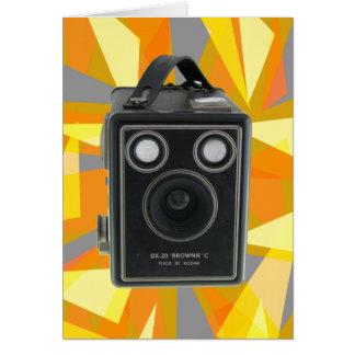 Brownie C vintage camera Greeting Cards