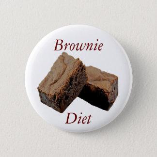 Brownie Diet 6 Cm Round Badge