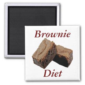 Brownie Diet Magnet
