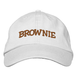 BROWNIE EMBROIDERED HAT