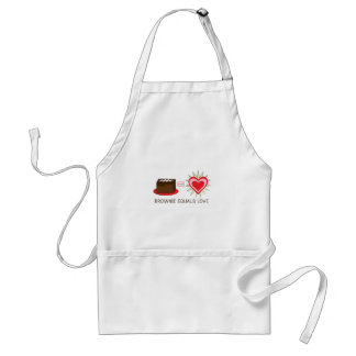 Brownie Equals Love Aprons