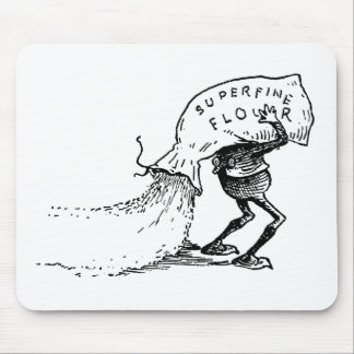 Brownie Spilling Flour Mousepads