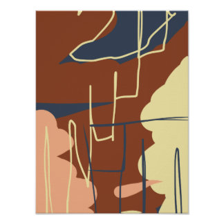Brownie Town Colors Posters