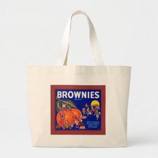 Brownies Brand California Oranges Jumbo Tote Bag