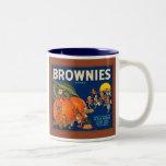 Brownies Brand Vintage Fruit Crate Label Coffee Mug