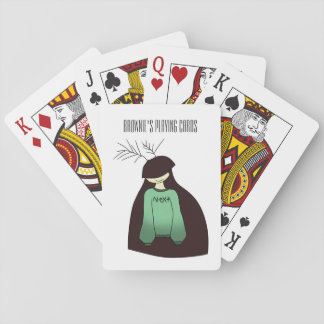 Brownie's playing cards