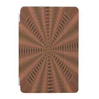Brownish abstract modern pattern iPad mini cover