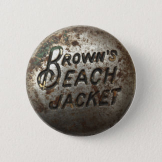 Brown's Beach Jacket 6 Cm Round Badge