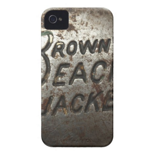 Brown's Beach Jacket iPhone 4 Cases