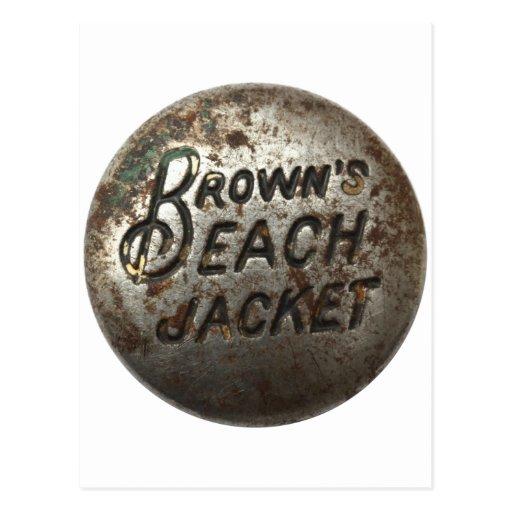 Brown's Beach Jacket Post Card