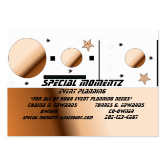 BrownSplash Special Moments Pack Of Chubby Business Cards