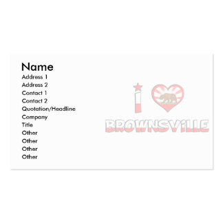 Brownsville, CA Business Cards