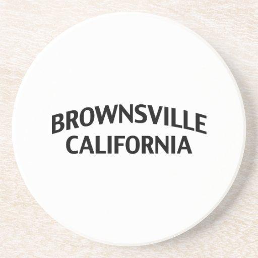 Brownsville California Beverage Coaster