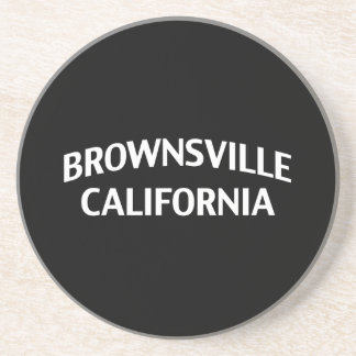 Brownsville California Drink Coasters
