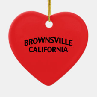 Brownsville California Christmas Ornaments