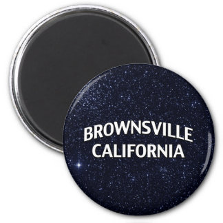 Brownsville California Refrigerator Magnet