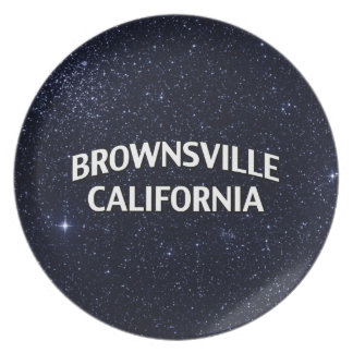 Brownsville California Dinner Plates