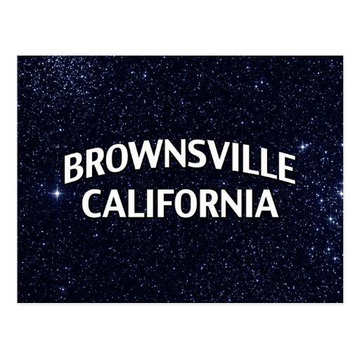 Brownsville California Postcards