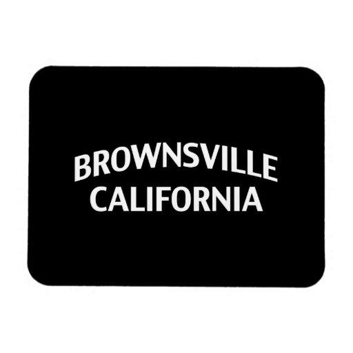 Brownsville California Rectangular Magnet