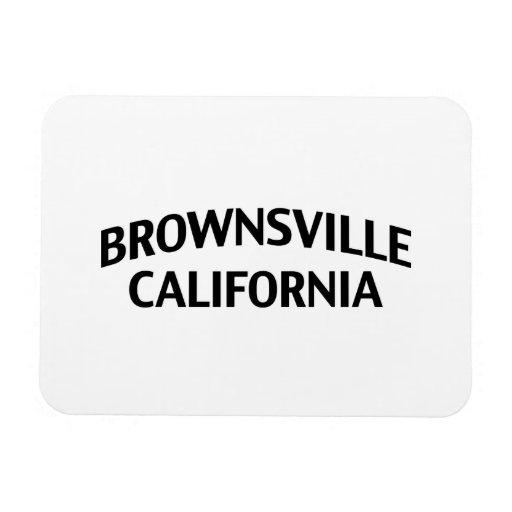 Brownsville California Vinyl Magnets