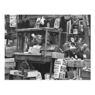 Brownsville market, Brooklyn: 1962 Postcards