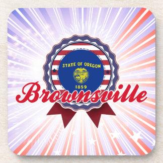 Brownsville OR Beverage Coasters