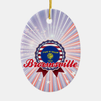 Brownsville, OR Christmas Ornaments