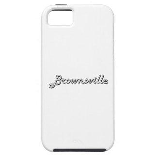 Brownsville Texas Classic Retro Design iPhone 5 Case