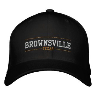 Brownsville Texas USA Embroidered Hats