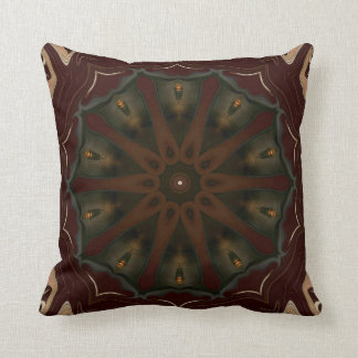 Brownsville. Throw Pillow