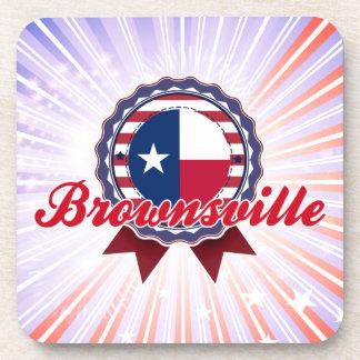 Brownsville TX Beverage Coaster