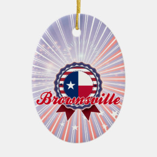 Brownsville, TX Christmas Ornament