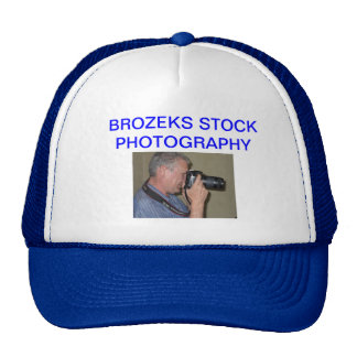 BROZEKS STOCK PHOTOGRAPHY CAP