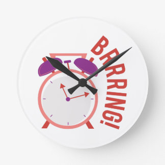 BRRRING! ROUND WALL CLOCKS