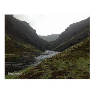 Bruararskord, Iceland Postcards